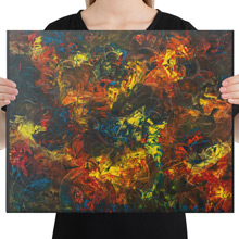 Phoenix canvas print from Todd Peterson's Passion Collection